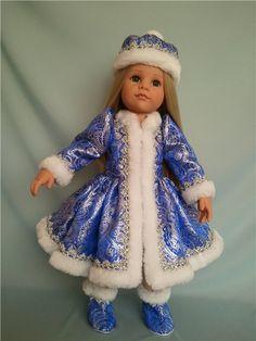 Наши Снегурочки-сестрички Готц. / Одежда и обувь для кукол - своими руками и не только / Бэйбики. Куклы фото. Одежда для кукол