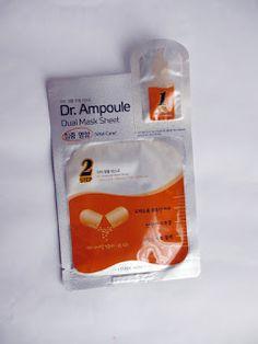 "Rosalie & Violetta: Etude House ""Dr. Ampoule Dual Mask Sheet""  #etudehouse #Beauty #Makeup #cosmetic #skincare"