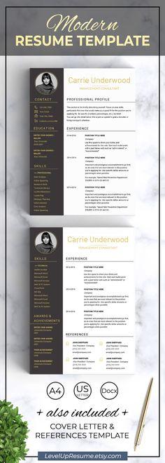 Resume template Modern resume with photo Design resume templates Cv template resumes Graphic resume Professional resume Creative resume College Resume Template, Modern Resume Template, Creative Resume Templates, Cv Template, Office Templates, Templates Free, Resume Tips, Resume Cv, Resume Examples