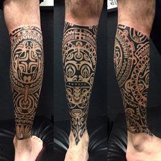 "Gefällt 1,024 Mal, 10 Kommentare - Gustavo Teixeira Franzoni (@guteixeiratattoo) auf Instagram: ""Finalizada mais uma perna. Valeu mano. #maoritattoo #maori #polynesian #tatuagemmaori #tattoomaori…"""
