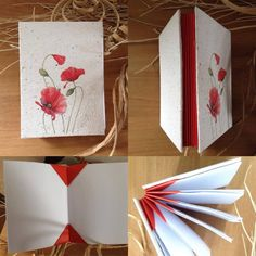 Blizzard book made by @renzacrea *** Le Maddine & Maddy https://www.facebook.com/groups/531953423561246/ ***  #madeinfacebook #lemaddine #handmade #handcrafted #instagram #instapic #instagood #picoftheday #instacool #handmade #cool #cute #paper #papercraft #album #book #recycle #recycledpaper #poppy #white #red #renzacrea