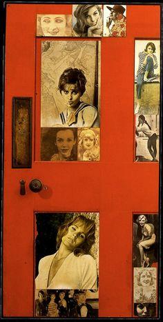 1959 Peter Blake, Girlie Door, Pop Art |[Clio Team] Flickr: ¡Intercambio de fotos!