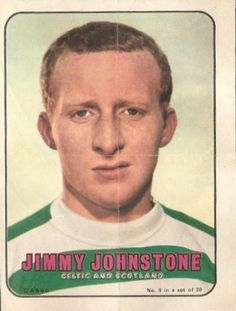 Jimmy Johnstone of Celtic in Glasgow, Kenny Dalglish, Football Stickers, Celtic Fc, European Cup, Now And Forever, One Team, Football Players, Soccer