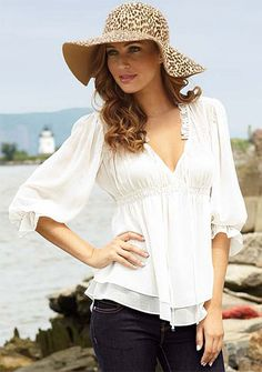 Really like this... top... and of course the hat..