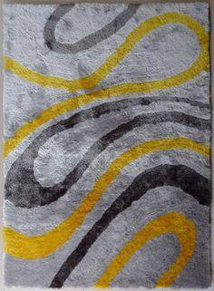 handmade vibrant gray with purple shag area rug with hand carved design hand carved purple and gray