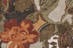 Jaipur Rugs Transitional Floral Pattern Beige and Brown Wool and Silk ...