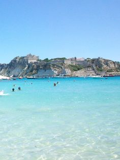 tremiti   Paesi/Reportage > San Domino > mare caraibico a cala delle arene
