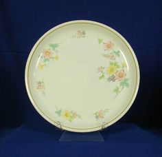 Sakura Japan Pattern Claudette 1123 Cream Dinner Plate bfe1677 #Sakura
