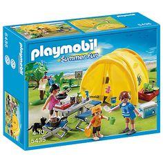 Buy Playmobil Summer Fun Family Camping Trip Online at johnlewis.com