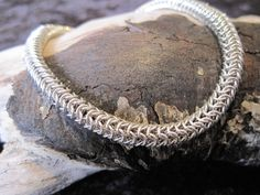 Roundmaille Sterling Silver