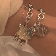 Simple Jewelry, Dainty Jewelry, Cute Jewelry, Jewelry Bracelets, Handmade Jewelry, Ankle Bracelets, Silver Bracelets, Bracelet Charms, Heart Bracelet