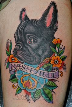 french bulldog tattoo - Google Search