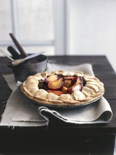 Natural light food photography- chris court, pie
