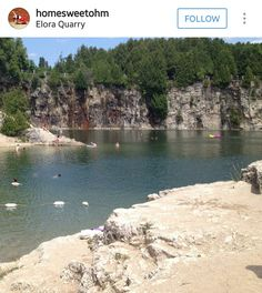 Elora Quarry River, Outdoor Decor, Travelling, Calla Lilies, Beach, Scenery, Rivers