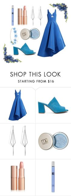 """""""Blue Size"""" by sarahsasadoce3 ❤ liked on Polyvore featuring Rosie Assoulin, Maryam Nassir Zadeh, Diane Kordas and Thierry Mugler"""