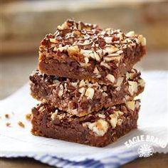 Chocolate Hazelnut Magic Bars from Eagle Brand®