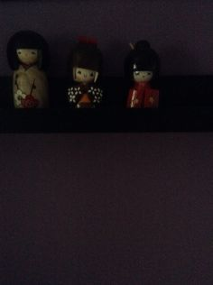 Chinese dolls great room decor