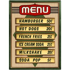 This restaurant wall decal features vintage style reproduction artwork that looks just like a sign from a classic diner. Removable wall sticker is made of textured polyester fabric with a glare-free matte finish. Sticks to most flat surfaces in your kitchen or dining room, and can be easily removed. Made in the USA with eco-friendly materials. Available in 12