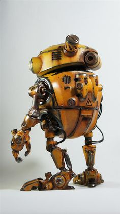 With his spectacular 3D printed Eddie the Robot, Australian visual artist Paul Braddock has just reminded the world of what airbrushing and careful post-processing can bring to 3D printing and toy-making.