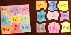 addit puzzl, division, numbers, multiplication facts, number bonds