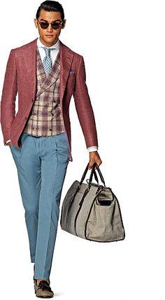 Veste_Rouge_Unicolore_Hudson_C83 [Mens fashion] #fashion // #men // #mensfashion
