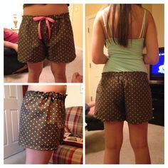 Handmade pj shorts