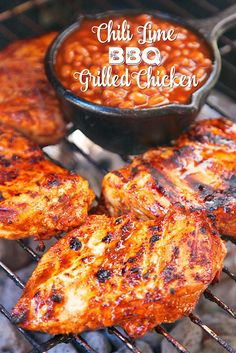 Chili Lime BBQ Grilled ChickenReally nice recipes. Every #hashtag