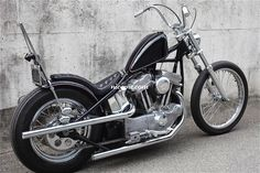 Black Sportster chopper by Nice! M/C