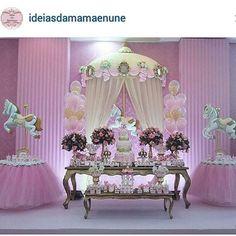 Obrigada por compartilhar o lindo carrossel da princesa Luisa  @ideiasdamamaenune .@dayanemarquesribeiro