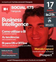 Convidado: Marcelo Capucci (iProspect). Tema: Business Intelligence. Com Denis Zanini e Sandru Luis. Clique e assista!
