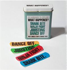 I think this would lead to an increase in bandaid needs. Maybe use them as stickers?