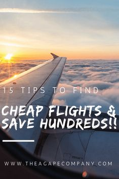 Looking to find cheap flights to save you thousands? Check out or travel guides full of tips and tricks to find you cheap airfare deals. These budget travel tips have helped us save money, explore the world, and find cheap flights anywhere! www.theagapecompany.com #cheapflights #airfaredeals #budgettravel #traveldeals #cheapairfare