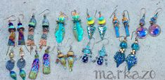 Handcrafted artisan earrings Handmade Jewelry, Artisan, Bracelets, Earrings, Ideas, Ear Rings, Stud Earrings, Handmade Jewellery, Ear Piercings