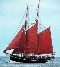 Ex- German Pilot schooner 'Atalanta',    by wreich