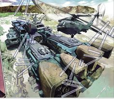 SDF-1 from the new Comic Series