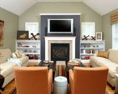 Image result for family room with 2 couches and 2 chairs open