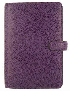 Filofax Finsbury Purple Personal Organizer *-*