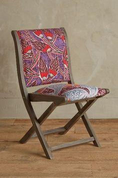 Screen-Printed Terai Folding Chair - anthropologie.com