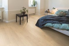 Light oak appearance in loft style If looking for a natural and light floor, this oak is the right choice. The authentic features and the neutral colours create a calm atmosphere Decor, Furniture, Home Collections, Light Oak, Floor Design, Home, Flooring, Oak, Loft Style