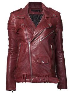 Blk Dnm Biker Jacket - American Rag - Farfetch.com