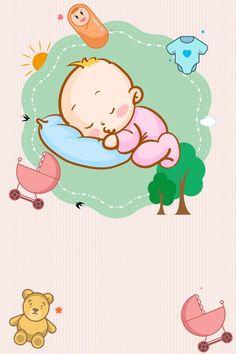 Cuidado De Recién Nacidos Recién Nacido Caricatura Rosa Mom And Baby, Baby Kids, Pregnancy Planner, Museum Poster, World Cancer Day, Baby Posters, Cartoon Background, Baby Album, Creative Posters