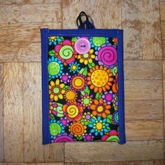 Mobile Phone Cover In Flowers Fabric £4.00 by Quilting Demon