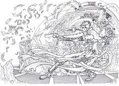 Trigun Plants by JasperK-StoneKing on DeviantArt Battle Angel Alita, Gung Ho, Vash, Anime Art, Character Design, About Me Blog, Japan, Deviantart, Manga