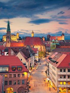 #Nuremberg by night, #Nürnberg #Bayern #Bavaria