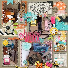 Layout using {Cleaning Up} Digital Scrapbook Collection by Meagan's Creations	 available at The Digichick and Gotta Pixel http://www.thedigichick.com/shop/Cleaning-Up-Collection-Bundle-by-Meagan-s-Creations.html http://www.gottapixel.net/store/product.php?productid=10026305&cat=&page=3 #meaganscreations