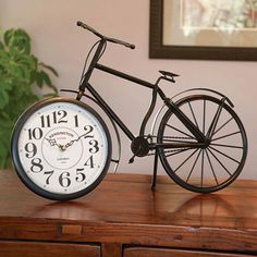 Vintage Kensington Station Bicycle Clock - Bits and Pieces