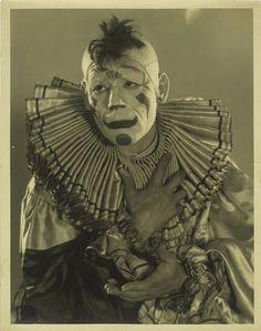 clown, via Flickr.