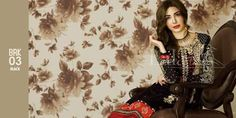 Lala Brocade Lawn 2016 Embroidered Kurtis With Price