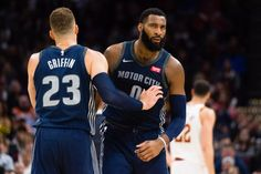 Detroit Pistons center Andre Drummond is one of the most valuable young stars in the NBA. But that does not make him an untouchable asset. Blake Griffin, Derrick Rose, Piston Art, Stan Van Gundy, Get Blake, Andre Drummond, Power Forward, Kareem Abdul Jabbar