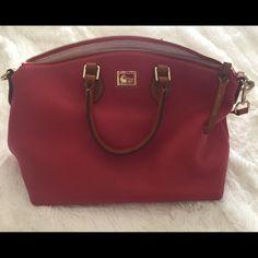 Dooney and Bourke handbag Excellent condition handbag. Minor wear, no rips or stains. Dooney & Bourke Bags Satchels